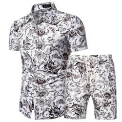 men-s-floral-beach-shorts-and-shirt