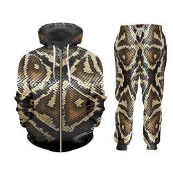 Survêtement veste et pantalon serpent