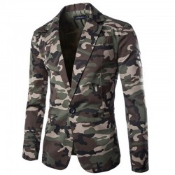 Men's military blazer