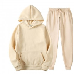 Hoodie and pants tracksuit