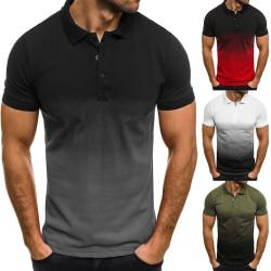 Gradient polo shirt