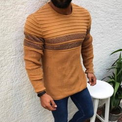 Men's tight sweater