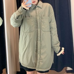Manteau fin mi-long