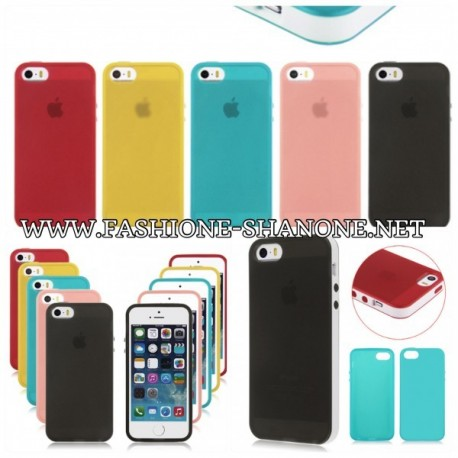 Coque IPHONE 5/5S en silicone