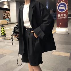 Blazer and shorts suit set