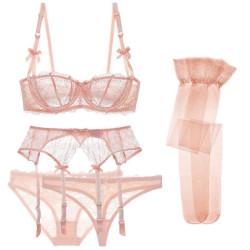 5 pieces lingerie set