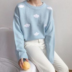 Cloud sweater