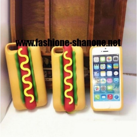 Coque IPHONE 5/5S hot-dog