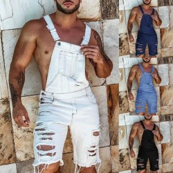 Men's short overalls