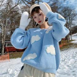 Cloud wool sweater