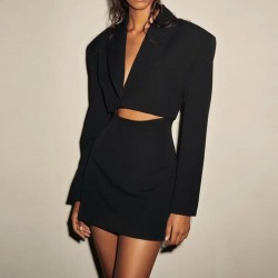 Blazer dress skirt