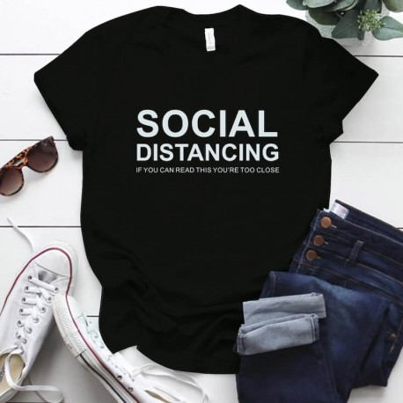 T-shirt SOCIAL DISTANCING