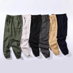 Pantalon jogging cargo pour homme