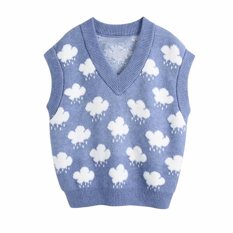 Rainfall sweater vest