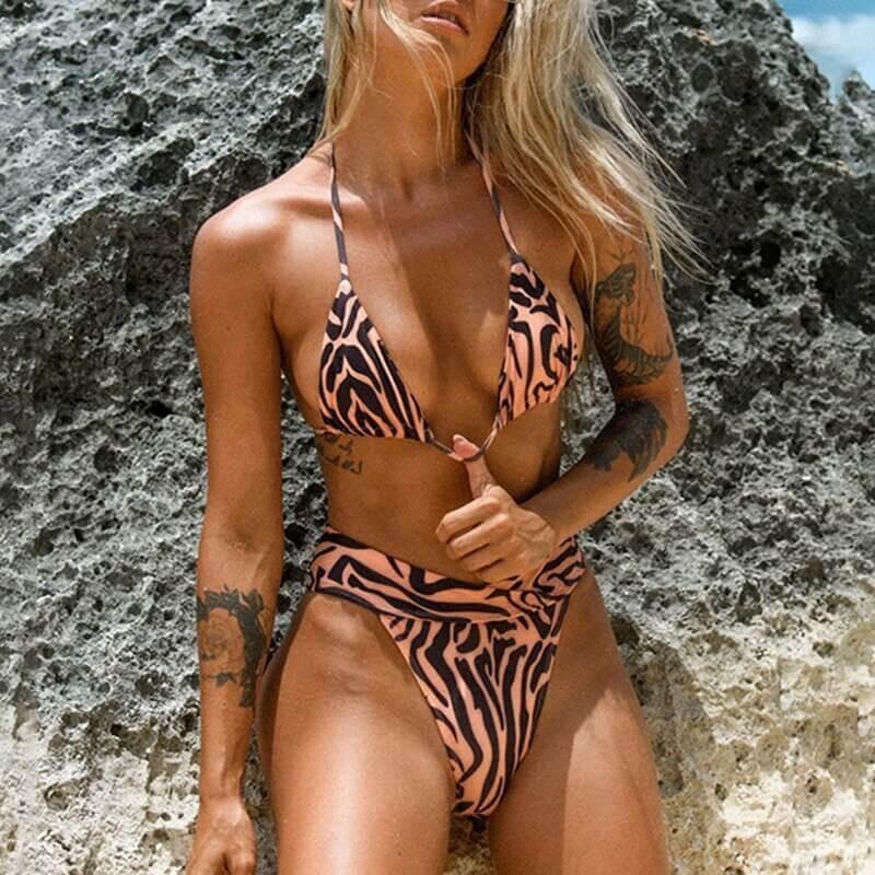 Bikini zébré