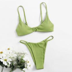 Green brazilian bikini