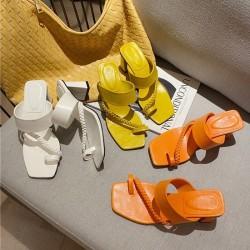 Sandales à talons doigt de pied