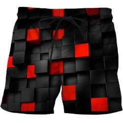 3D swim shorts