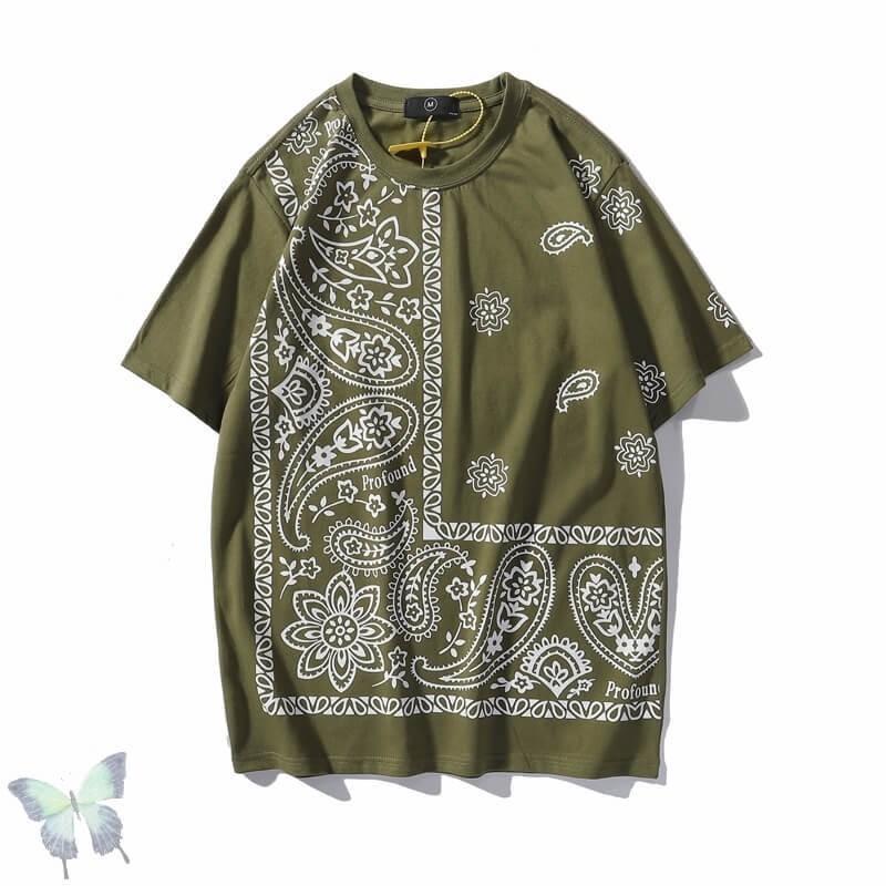 T-shirt bandana homme