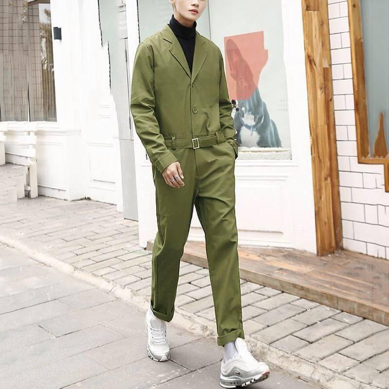 Combinaison pantalon cargo pour homme