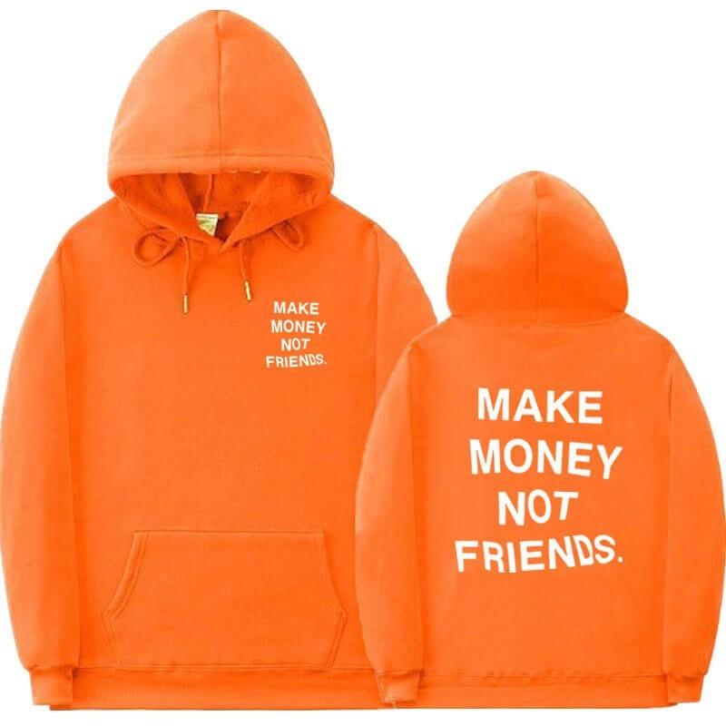 Sweatshirt MAKE MONEY NOT FRIENDS