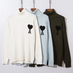 Card game turtleneck sweater