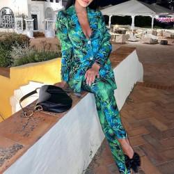 Women tropical suit