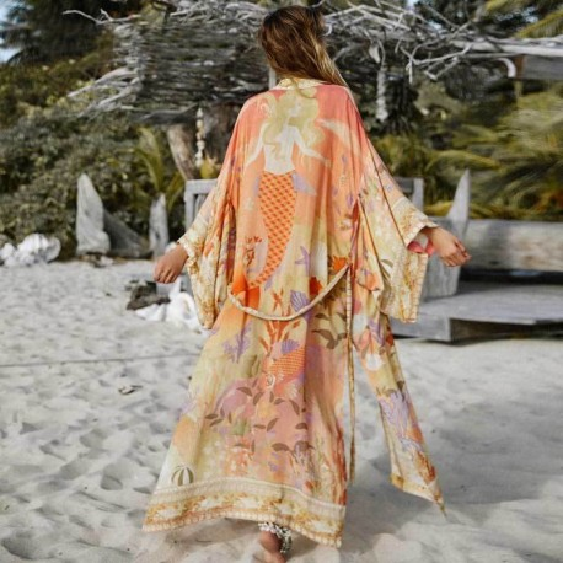 Long kimono boho