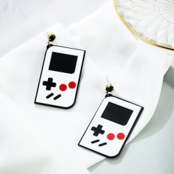 Game boy geek earrings