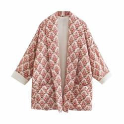 Floral chic retro jacket