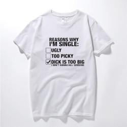DICK IS TOO BIG T-shirt