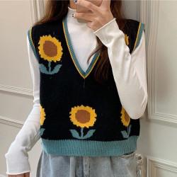 Sunflower sweater vest