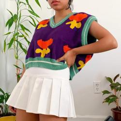Tulip sweater vest