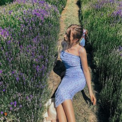 Romantic floral bodycon boho dress